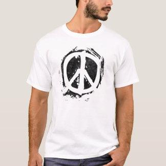Camiseta Símbolo de paz do Grunge