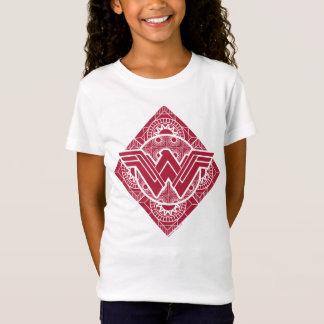 Camiseta Símbolo do Amazonas da mulher maravilha