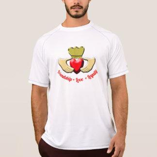 Camiseta Símbolo do irlandês de Claddagh
