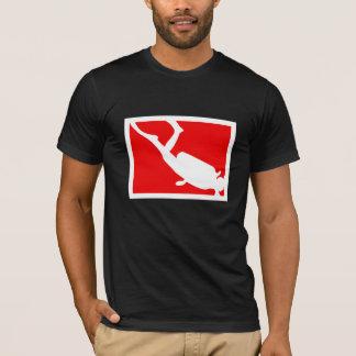 Camiseta Símbolo do mergulho