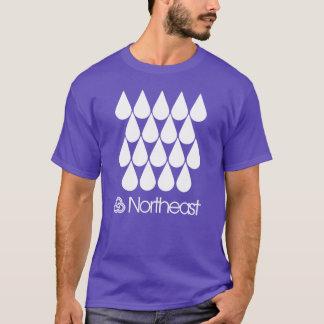 Camiseta Símbolo do nordeste do setor - pingos de chuva