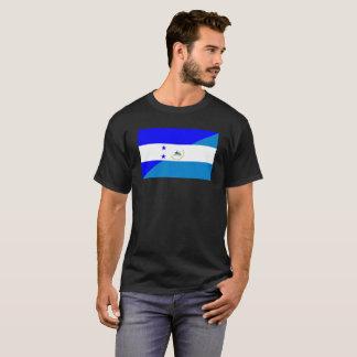 Camiseta símbolo do país da bandeira de honduras Nicarágua