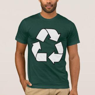 Camiseta Símbolo do reciclar