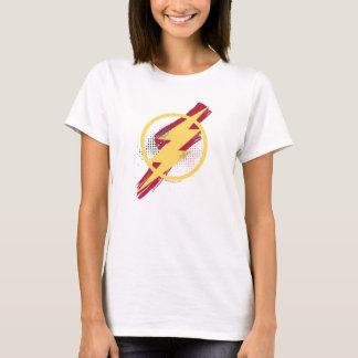 Camiseta Símbolo instantâneo da escova & da reticulação da