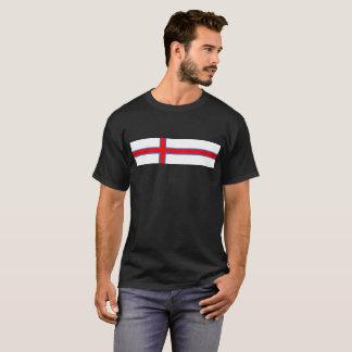 Camiseta símbolo longo da bandeira de país de Faroe Island