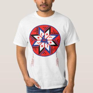 Camiseta Símbolo tripartido de Mi'kmaq