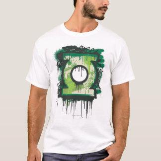 Camiseta Símbolo verde dos grafites da lanterna