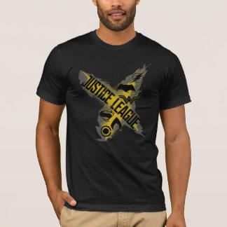 Camiseta Símbolos da liga & da equipe de justiça da liga de