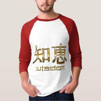 Camiseta Símbolos do Kanji para a coleção da roupa da