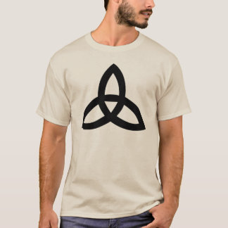 Camiseta símbolos sagrados irlandeses celtas