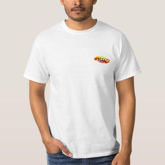 Camiseta simples HSC - Coleção fogo