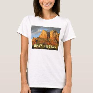 Camiseta Simplesmente sendo puro e verdadeiro