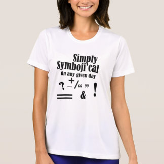 """Camiseta """"Simplesmente Symboji'cal """""""