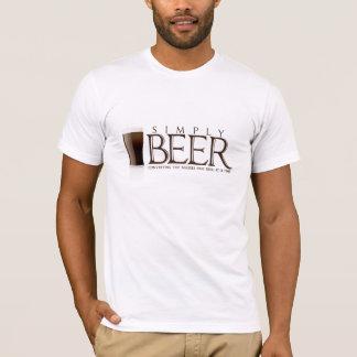 Camiseta Simplesmente t-shirt da cerveja