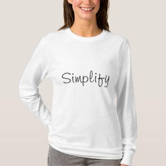 Camiseta Simplifique