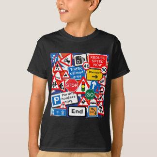 Camiseta Sinais de estrada