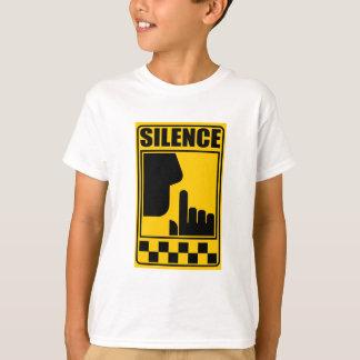 Camiseta Sinal amarelo do silêncio