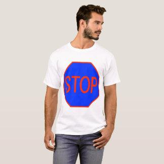 Camiseta Sinal azul da parada