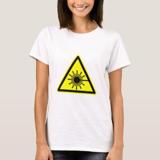 Camiseta Sinal da radiação de laser