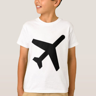 Camiseta Sinal das partidas de AIGA (avião)