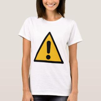 Camiseta Sinal de aviso