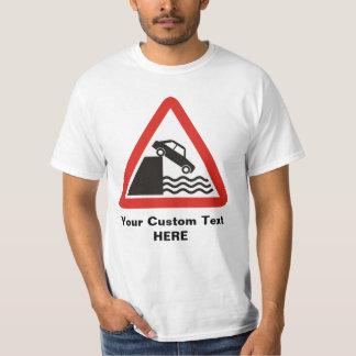 Camiseta Sinal de aviso do cais