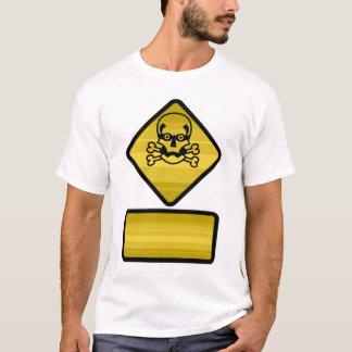 Camiseta Sinal de aviso - personalize