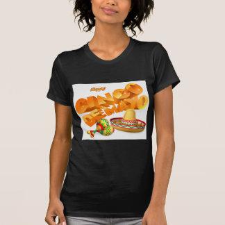 Camiseta Sinal de Cinco De Mayo