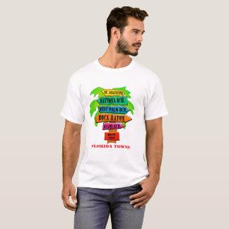 Camiseta Sinal de estrada da costa leste de Florida