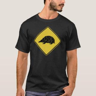 Camiseta Sinal de estrada de Austrália - Echidna