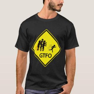 Camiseta Sinal de estrada do zombi - GTFO
