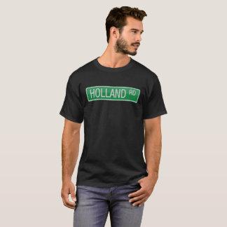 Camiseta Sinal de rua da estrada de Holland