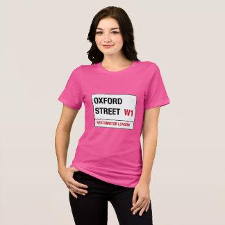 Camiseta Sinal de rua da rua W1 Westminster Londres de