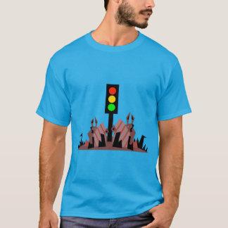 Camiseta Sinal de trânsito com coelhos