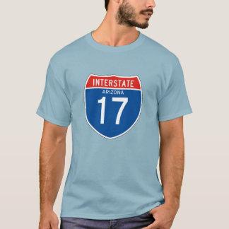 Camiseta Sinal de um estado a outro 17 - arizona