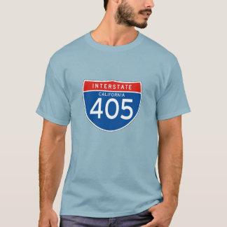 Camiseta Sinal de um estado a outro 405 - Califórnia