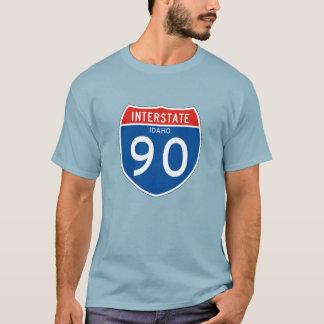 Camiseta Sinal de um estado a outro 90 - Idaho