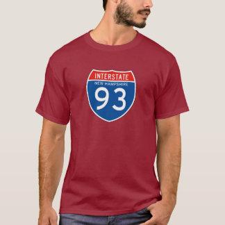Camiseta Sinal de um estado a outro 93 - New Hampshire