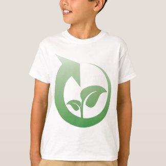 Camiseta Sinal do reciclagem