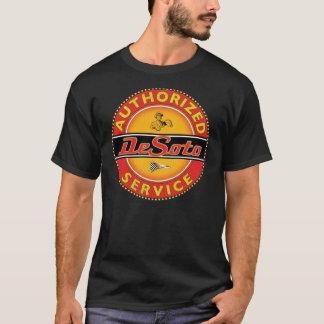 Camiseta sinal do serviço do desoto