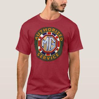 Camiseta Sinal do vintage dos carros de MG