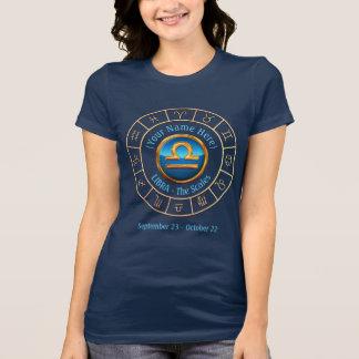 Camiseta Sinal do zodíaco de Libra The Scales