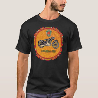 Camiseta Sinal incomparável da motocicleta do Clubman do