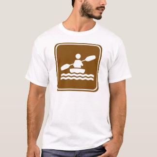 Camiseta Sinal Kayaking da estrada