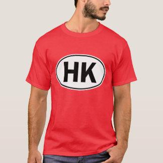 Camiseta Sinal oval da identidade da HK