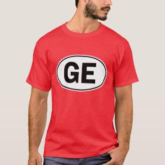 Camiseta Sinal oval da identidade de GE