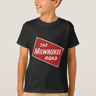 Camiseta Sinal Railway 2 da estrada de Milwaukee