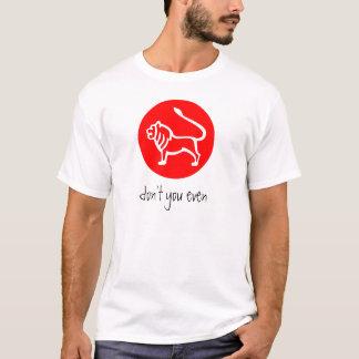 Camiseta Sinal T do zodíaco de Leo