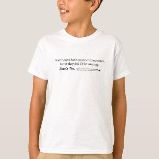 Camiseta Síndrome de Down:  Amigos reais