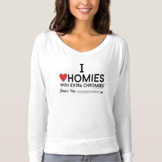 Camiseta Síndrome de Down - chromiesTM dos homies w/extra